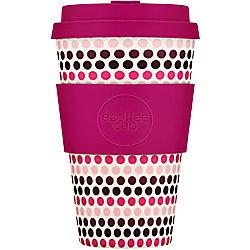 Ecoffee Cup Kaffeebecher Polka 400 ml Mehrfarbig 650113