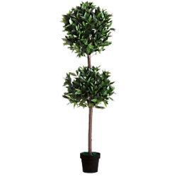 Paperflow Künstliche Pflanze Le Laurel Grün 250 x 250 x 1.650 mm PALAU165