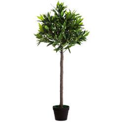 Paperflow Künstliche Pflanze Olivenbaum Grün 190 x 19 x 1.250 mm PAOLI125