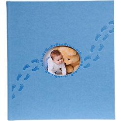 Exacompta Fotoalbum Piloo 29x32 Blau 60 Seiten 300 Fotos 12203E