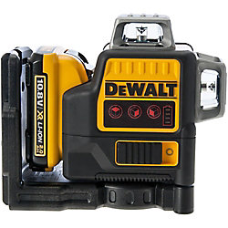DeWalt DCE0811D1R-QW Kreuzlinienlaser