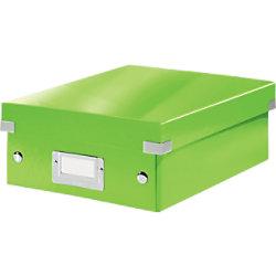 Leitz Click & Store WOW Klein Organisationsbox Laminierte Hartpappe Grün 22 x 28,2 x 10 cm 60570054