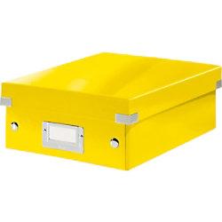 Leitz Click & Store WOW Klein Organisationsbox Laminierte Hartpappe Gelb 22 x 28,2 x 10 cm 60570016