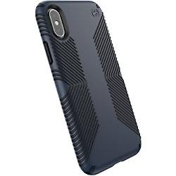 Speck Hartschalen Handyhülle Apple iPhone XS/X Blau, Carbon Schwarz 117124-6587