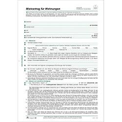 RNK Mietverträge für Wohnungen + Hau DIN A4 802058
