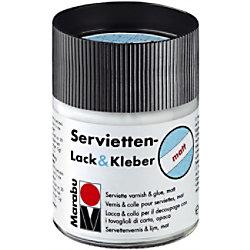 Marabu Serviettenlack & Kleber Matt Transparent 500 ml 114075843