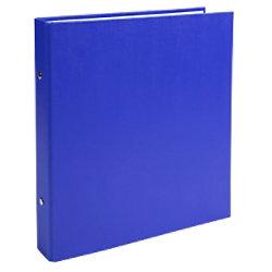 Exacompta Ringbuch 2 Ringe Kaschierter Karton PP Blau 20 Stück 622SE