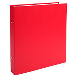 Exacompta Ringbuch 2 Ringe Kaschierter Karton PP Rot 20 Stück 625SE