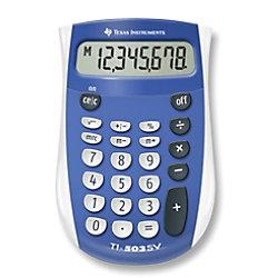 Texas Instruments Taschenrechner TI-503SV 80 mm Blau