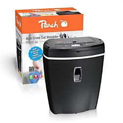 Peach Aktenvernichter PS500-50 Partikelschnitt Sicherheitsstufe P-4