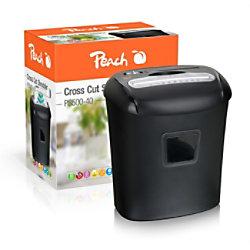 Peach Aktenvernichter PS500-40 Partikelschnitt Sicherheitsstufe P-4