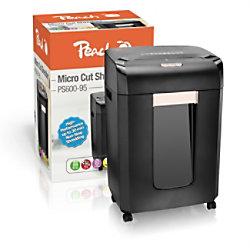 Peach Aktenvernichter PS600-95 Mikroschnitt Sicherheitsstufe P-5