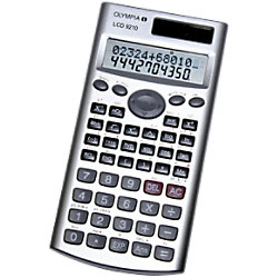 Olympia Wissenschaftlicher Taschenrechner LCD 9210 84 mm Silber LCD9210