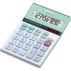 Sharp Tischrechner EL-M711G 100 mm Silber