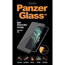 PanzerGlass Bildschirmschutz iPhone XS Max/11 Pro Kristallklar, Schwarz 2666