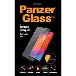 PanzerGlass Bildschirmschutz Samsung Galaxy A80 Kristallklar, Schwarz 7192