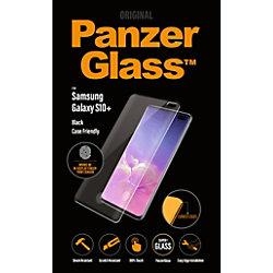 PanzerGlass Bildschirmschutz Smasung Galaxy S10 Plus Schwarz, Klar 7186