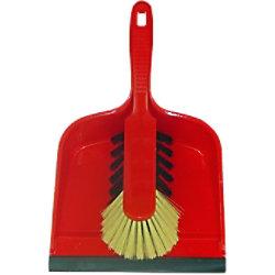 BETRA Handfeger und Kehrschaufel 21,5 x 33 x 10,5 cm Rot 2 Stück 104091R
