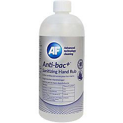 AF Handdesinfektionsmittel Antibakteriell Anti-bac+ 500ml ABHHR500