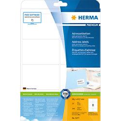HERMA Versandetiketten 5077 Weiß Rechteckig 99,1 x 67,7 mm 25 Blatt à 8 Etiketten