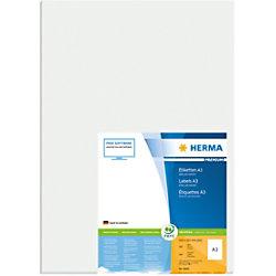 HERMA Versandetiketten 8692 Weiß Rechteckig 297 x 420 mm 100 Blatt à 1 Etikett