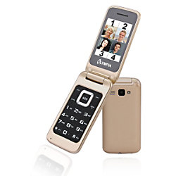 Olympia Luna 6,1 cm (2,4 Zoll) Mobiltelefon Mobiltelefon Gold 2212