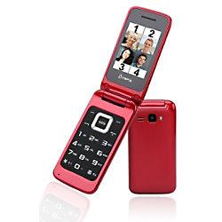 Olympia Luna 6,1 cm (2,4 Zoll) Mobiltelefon Mobiltelefon Rot 2211