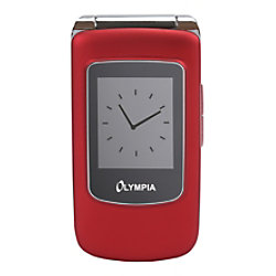 Olympia Style View 6,1 cm (2,4 Zoll) Mobiltelefon Mobiltelefon Rot 2282