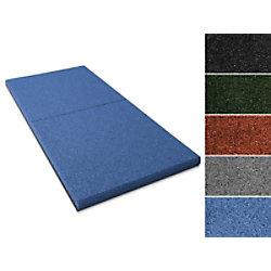 etm Fallschutzmatte Gummigranulat Blau 22 mm 1000 x 500 mm fd-9994