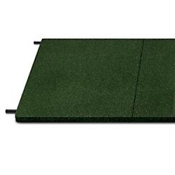 etm Fallschutzmatte Gummigranulat Grün 30 mm 1000 x 500 mm fd-10014