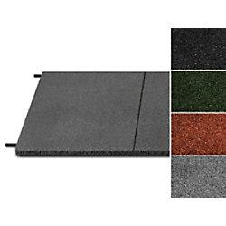 etm Fallschutzmatte Gummigranulat Grau 1000 x 500 mm fd-18507