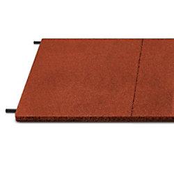 etm Fallschutzmatte Gummigranulat Rot 30 mm 1000 x 500 mm fd-10051