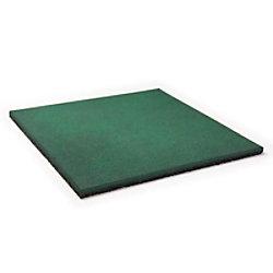 etm Fallschutzmatte Gummigranulat Grün 25 mm 500 x 500 mm fd-2568