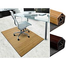 Floordirekt Pro Stuhlunterlage Hell Bambus, Filz Braun 900 x 1200 mm fd-19092