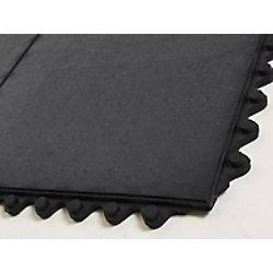etm Bodenschutzmatte Gummi Schwarz 920 x 920 mm fd-789