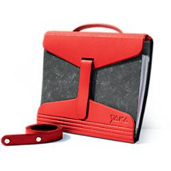YAKA Ordnertasche PVC Rot 2 Stück 1316063