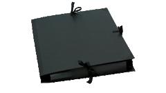 Schwarzes Kraftpapier