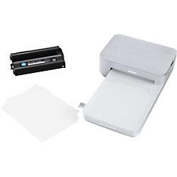 HP Sprocket Studio 3MP72A Farb Tintenstrahl Fotodrucker Weiß 3MP72A