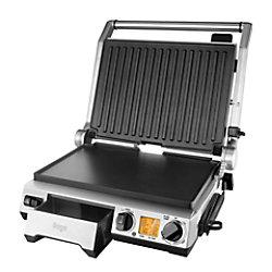 Tischgrill Sage Smart Grill Pro Silber, Schwarz 2400 W Aluminium SGR840BSS4EEU1