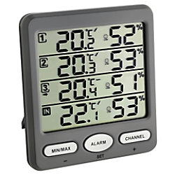 TFA Thermometer Klimamonitor kabellos 30.3054.10 30011205