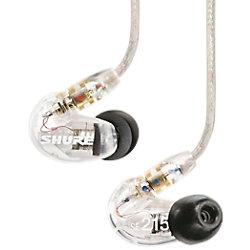 Shure Kabellose Ohrhörer SE215 Bluetooth Schallisolierend Mit Mikrofon Transparent SE215-CL-TW1-EFS