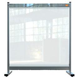 Nobo Schutzscheibe Premium Plus PVC Transparent 800 x 700 X 410 mm 1915547