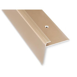Casa Pura Stufenkantenprofil Safety Aluminium Gold 900 mm fd-10454