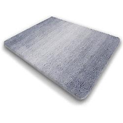Sky Badteppich Ombre Polyester Grau 500 x 600 mm fd-11339
