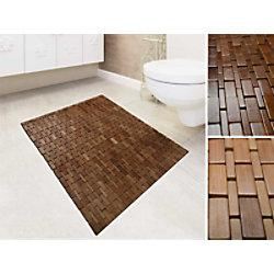 Casa Pura Badematte Bambus Honig 600 x 900 mm fd-8055