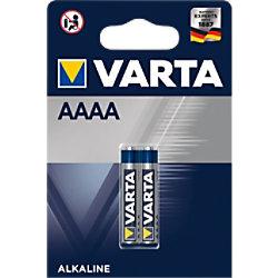 Varta Batterie Weitere Rundzellen Professional AAAA 100 Stück 04061 101 402