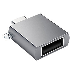 Satechi USB-Adapter Typ C auf Typ A Space Grey ST-TCUAM