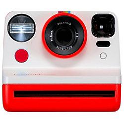 Polaroid Instant Kamera NOW Weiß, Rot 9032