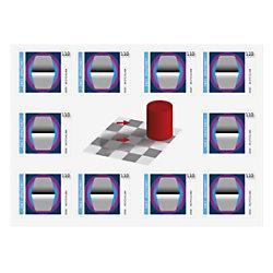 Deutsche Post 1,10 € Briefmarken Zwei Grautöne 152306004