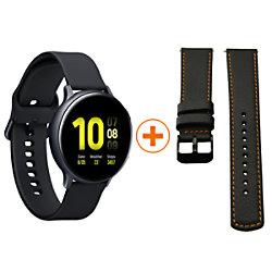 Samsung Sportuhr mit SIM Galaxy Watch Active2 Alu LTE Special Pack F-GWA2ALULTE44